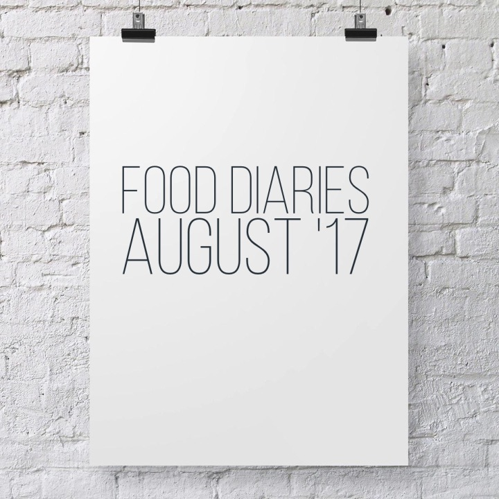 Intro to Food Diaries – August '17